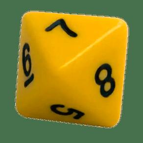 Dado-8-Lados-16mm-Amarelo