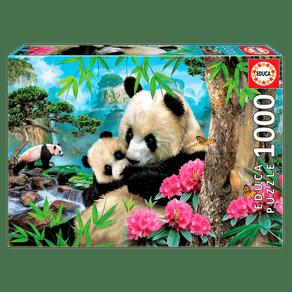 Puzzle-1000-pecas-Ursos-Pandas