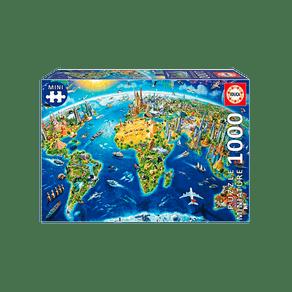 Puzzle-1000-pecas-Miniatura-Simbolos-do-Mundo