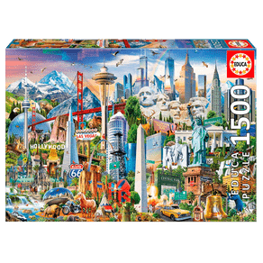 Puzzle-1500-pecas-Simbolos-da-America