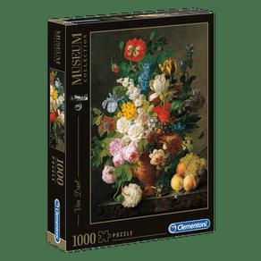 Puzzle-1000-pecas-Van-Dael---Vaso-de-Flores