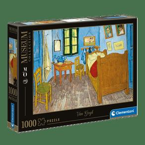 Puzzle-1000-pecas-Van-Gogh---Quarto-em-Arles