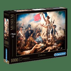 Puzzle-1000-pecas-Delacroix---A-liberdade-guiando-o-povo