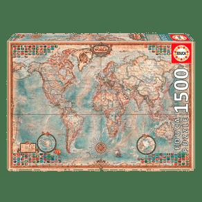 P1500--O-Mundo-Mapa-Politico
