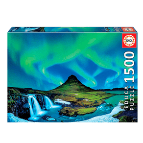 Puzzle-1500-pecas-Aurora-Boreal-Islandia