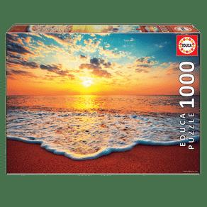 04187_Puzzle_1000_Entardecer_na_praia