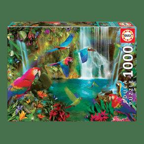 03978_Puzzle_1000_Papagaios_Tropicais